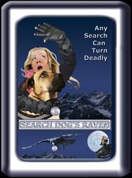 The SEARCH DOG'S RAVEN Poster Number 1 With Frame